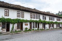 Typical old Bulgarian architecture, Tryavna Stock Images