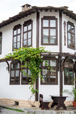 Typical old Bulgarian architecture, Tryavna Royalty Free Stock Photos