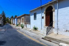 Typical old city houses, Kyrenia Stock Image