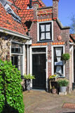 Typical old Dutch house. On Texel royalty free stock photos