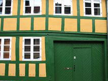 Typical old house  Denmark Stock Photo