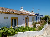 Typical old houses at Forte de Cacela Royalty Free Stock Photography