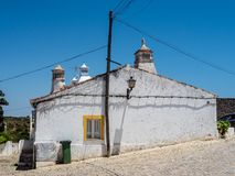 Typical old houses at Forte de Cacela Stock Images
