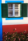 Typical old houses on Santana, Madeira island, Portugal Royalty Free Stock Photo