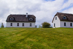 Typical old Irish house located Royalty Free Stock Photo