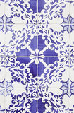 Typical old Lisbon tiles Stock Image