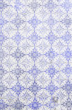 Typical old Lisbon tiles. Detail of a classic ceramic tiles, art of Portugal royalty free stock photos