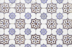 Typical old Lisbon tiles Royalty Free Stock Photo
