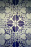 Typical old Lisbon tiles Stock Photography