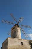 Typical old windmill in Malta Stock Images