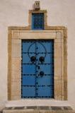 Typical oriental door portal Royalty Free Stock Image