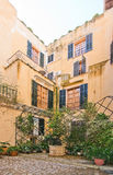 Typical Palma courtyard Royalty Free Stock Photography