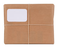 Typical parcel Royalty Free Stock Photos