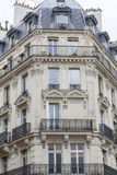 Typical parisian architecture Stock Photo