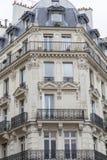 Typical parisian architecture Stock Photo
