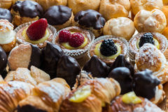 Typical Pasticcini Royalty Free Stock Photo