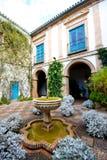 Typical patio in Cordoba, Spain Stock Photos