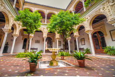 Typical patios of Seville Royalty Free Stock Photography
