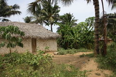 Typical Pemba Village Stock Images