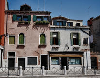 Typical photo of Venice city Stock Images