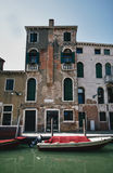 Typical photo of Venice city Royalty Free Stock Photo