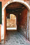 Typical photo of Venice city Royalty Free Stock Images