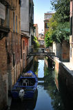 Typical photo of Venice city Royalty Free Stock Image