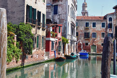 Typical photo of Venice city Royalty Free Stock Photography