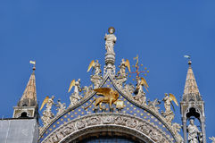 Typical photo of Venice city Stock Photography
