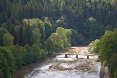 Typical Polish landscape Stock Photography
