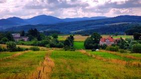 Typical Polish landscape Royalty Free Stock Photos
