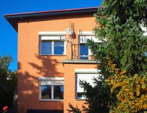 Typical Polish village Stock Photos