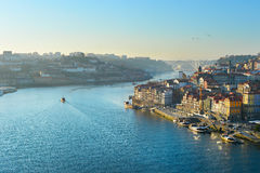 Typical Porto scene, Portugal Royalty Free Stock Images