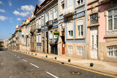 Typical portugal houses in Porto Stock Photography
