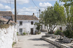 Typical portugese village Stock Photography
