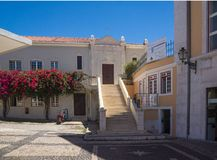 Typical portuguese architecture stock photos