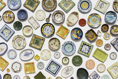 Typical Portuguese ceramics in sagres Portugal Royalty Free Stock Images