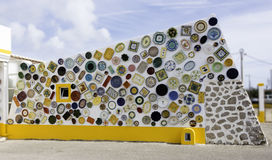 Typical Portuguese ceramics in sagres Portugal Royalty Free Stock Photography