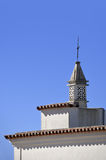 Typical Portuguese chimney pot Royalty Free Stock Images