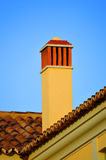 Typical Portuguese chimney pot Royalty Free Stock Photo