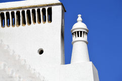Typical Portuguese chimney pot Stock Photos