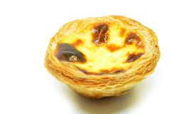 Typical Portuguese custard pies Stock Photo