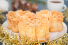 Typical portuguese dessert filhos Royalty Free Stock Image