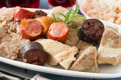 Typical portuguese dish Royalty Free Stock Photography