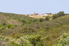 Typical portuguese house in Aljezur Stock Photography