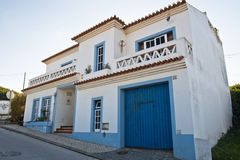 Typical portuguese house architecture Royalty Free Stock Photography