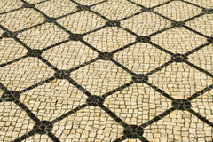 Typical portuguese pavement Stock Photo
