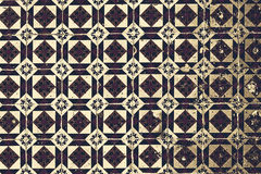 Typical Portuguese tiles, Blue Azulejo, spanish, italian and mo. Roccan ornaments - Lisbon, Portugal December 26, 2016 vector illustration