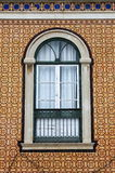 Typical portuguese window Royalty Free Stock Images