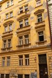 Typical prague architecture royalty free stock photo